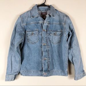 Ralph Lauren Denim Jacket Size Large